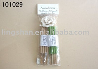 scented incense stick with ceramic holder