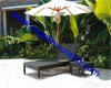 Sell outdoor Patio Garden Wicker Furniture sun Lounger Set with table