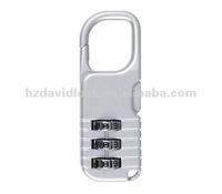 aluminum code padlock
