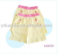 2012NEW STYLE,baby pants,baby clothes,baby garment,short pants