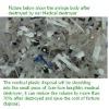 Medical disposal waste