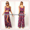 2013 Popular stylish printed beach pants women clothing (B1027#)