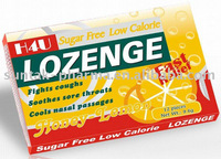 Private Label Throat Lozenge Mint Candy in blister pack