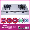 Stainless steel LPG gas stove cooker