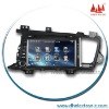 2 din special car dvd for KIA K5 , in dash Multimeida DVD player with bulit-in GPS navigation,bluetooth, Two zone full function