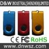 2GB 4GB 8GB metal swivel usb flash drive