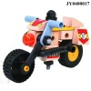 Plastic wooden toy wooden block plastic wooden car