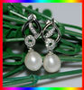 Freshwater pearl earring for christmas gift BE31