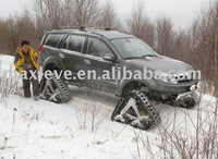 Rubber Track Conversion system for SUV