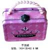 promotional fashion metal handle tin box