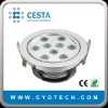 9*1W LED Ceiling light low heat no UV