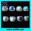 fake gemstone ring design for mens from China direct factory