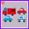 Coloful wall stickers wholesale kids -CAR