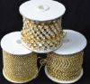 high quality Rhinestone Cup Chain jewelry accessory