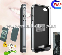 New! 2000hAh high capacity portable rechargeable external battery for iPhone 4 4s
