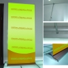 luxury roll up display -Hill type