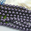 Bright 12mm Glass Pearl lead and nickel free