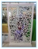White Wood Carved Screen Wedding Product&Party Decorations
