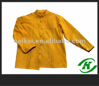 100% split leather welding clothes