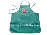 Promotional nonwoven apron set