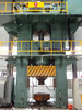 H frame hydraulic forming machine