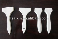 high quality wooden handlebar with white color
