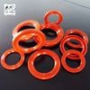 Red silicone TC oil seal