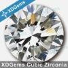 brilliant cubic zirconia stone