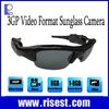 Extreme Long Time Recording DVR Sunglasses Camera 3GP Format