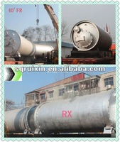 pyrolysis reactor of refining fuel oil using waste rubber