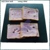 black bread slate trays