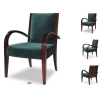 Curved Arm Solid wood hotel chair PFC626