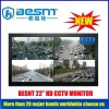 2012 high resolution 22 inch HD CCTV camera monitor