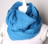women/men cashmere blended soft cable scarf STW-SC25