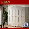 SUSAN 218YG 5 five door modern wood wardrobe closet