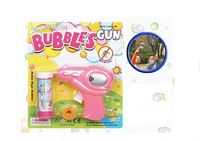 2012 Inexpensive Cartoon Bubble Gun New Kid Toys Wholesale Bubble Gun