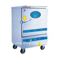 ZXY20-6 gas rice steamer cabinet with 6 containers passed ISO9001