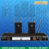 Professional UHF PLL ACT/IR Wireless Lapel Microphone AE-U981T