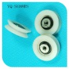 plastic cable pulley wheels ,3Cr13 and POM,belt pulley