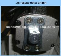 single phase motor control AC Tubular Motor