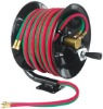 manual twin welding hose reel