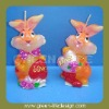 Easter decoration candle