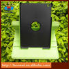 360 rotation leather case cover and flip stand in green for ipad mini HWT-1318