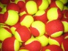 ITF Approvel Soft Tennis Balls For Kid Stage 3 /Low Compression Tennis Ball Yellow &Red Color
