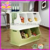 kids wooden toy box,stackable and large size