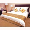 hotel jacquard bed runner&protector popular design