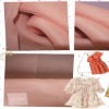 2012 Wedding Dress Spangle Organza Fabric