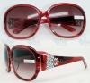 Polarized sunglasses Fashion lady acetate sunglasses