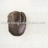 NICE HAIR high quality 100% human hair men's toupee