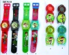 LED Kids cartoon watch with music